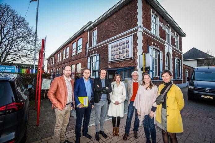 Basisschool De Notelaar zal op termijn verhuizen. De foto dateert van voor de coronamaatregelen.