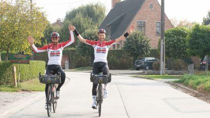 """Thomas De Gendt en Tim Wellens fietsen in zes dagen van Como naar Semmerzake: """"Puur ontstressen"""""""