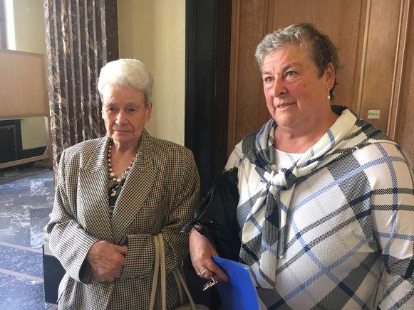 Linda Deven en Marie Spriet werden bestolen als vrijwilliger
