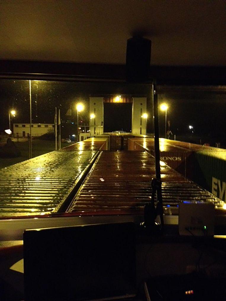De sluis bij Eefde. Beeld Mac van Dinther