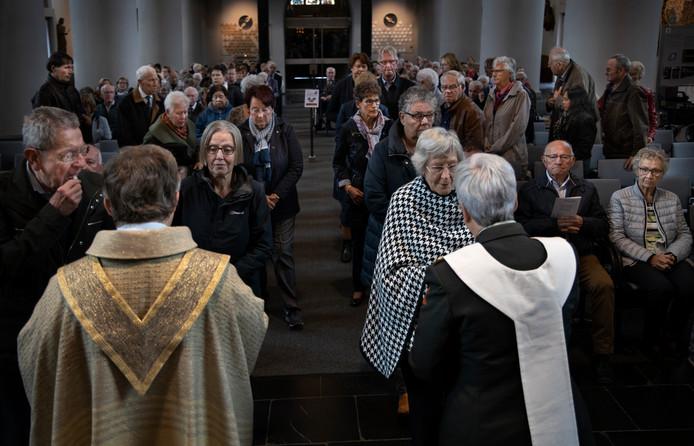 Herdenkingsdienst met oud-strijders in Deurne