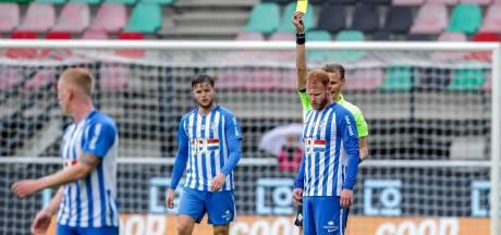 FC Eindhoven keihard onderuit bij NEC: zes tegengoals en een rode kaart