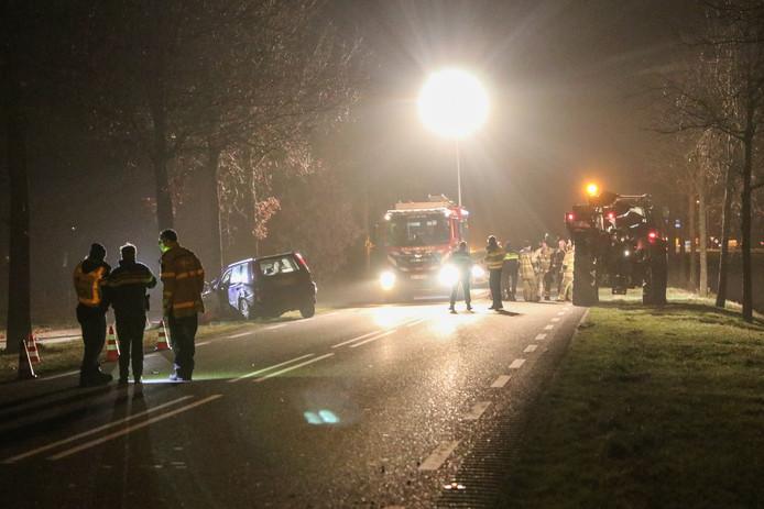 Op de Kuinderweg (N351) in het buitengebied bij Luttelgeest en Kuinre heeft zaterdagavond rond 19.45 uur een ernstig verkeersongeval plaatsgevonden.