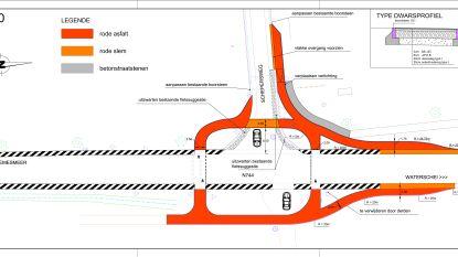 Wiemesmeerstraat krijgt veilige fietsoversteekplaats