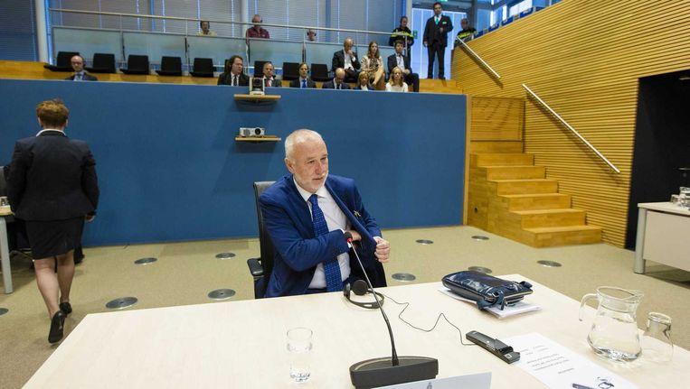 Maurizio Manfellotto, president-directeur van treinfabrikant AnsaldoBreda, verschijnt voor de commissie Fyra.