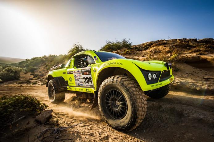 De MitJet waarmee Michiel Becx een positie binnen de top 30 in de Dakar Rally van 2019 wil bemachtingen.