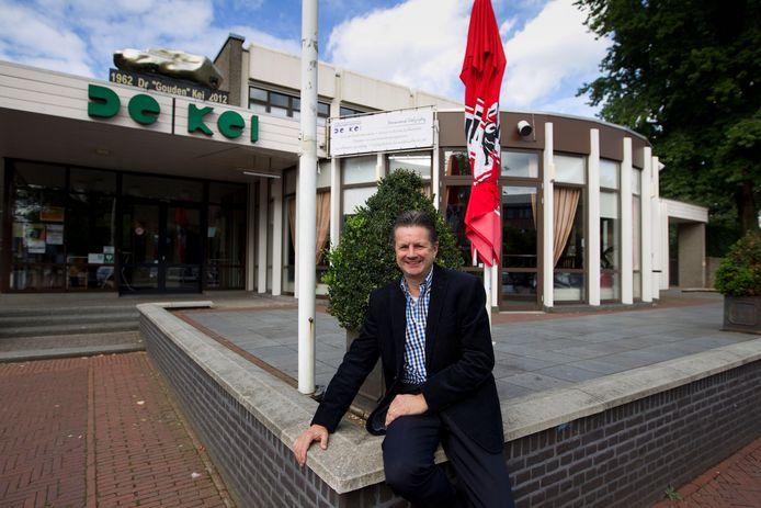 Beheerder Ad van Rijthoven stopt als beheerder van cultureel centrum De Kei in Reusel.