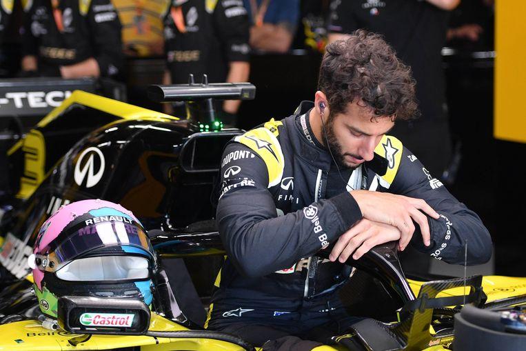 Daniel Ricciardo eindigde in Japan op de zesde plaats.