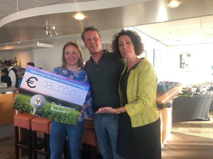 Het golftoernooi in Zwolle bracht veel geld op voor het Ronald McDonald Huis.