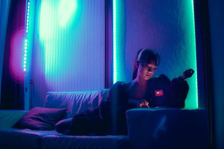 Blootstelling aan blauw licht zorgt voor een slechtere nachtrust