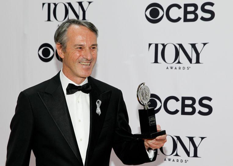 Ivo van Hove tijdens de Tony Awards Beeld reuters