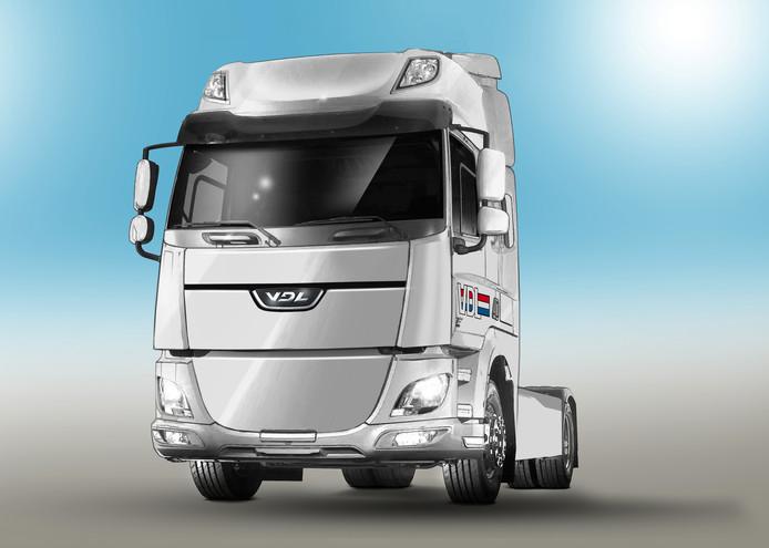 VDL ziet na de elektrische truck ook brood in een waterstoftruck.