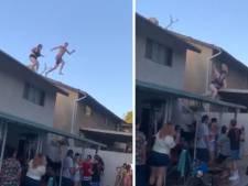 Le plongeon complètement raté d'une Américaine lors d'une pool party