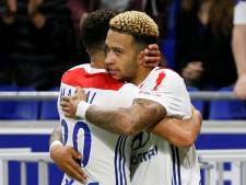 Lyon met scorende Depay langs Nîmes