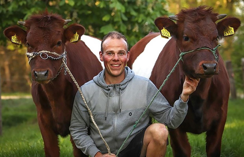 Andy Kleiren: 'Ik ben een echte buitenjongen.' Beeld Amy Wouters/Tilburg Mediafonds