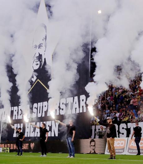 Sloetski: 'Het eerbetoon was een topprestatie van het publiek'