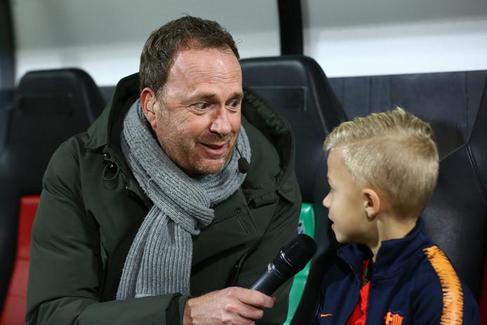 Jochem van Gelder interviewt maandag als stadionspeaker voorafgaand aan de wedstrijd van NEC tegen Jong FC Utrecht de pupil van de week.