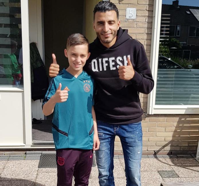 Romano Telussa (links) en Soufiane Touzani