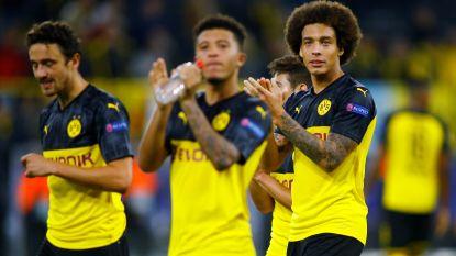 Dortmund blijft op gelijkspel steken tegen Frankfurt, Witsel en Hazard zorgen voor Belgische goal
