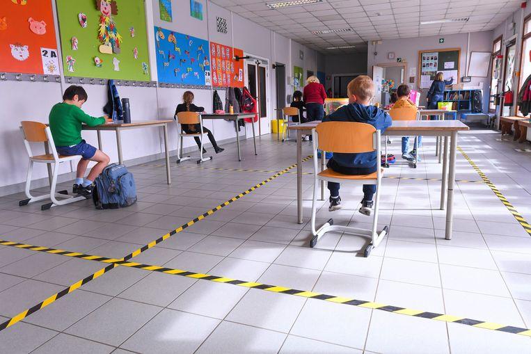 Beeld ter illustratie uit een school in Waver.