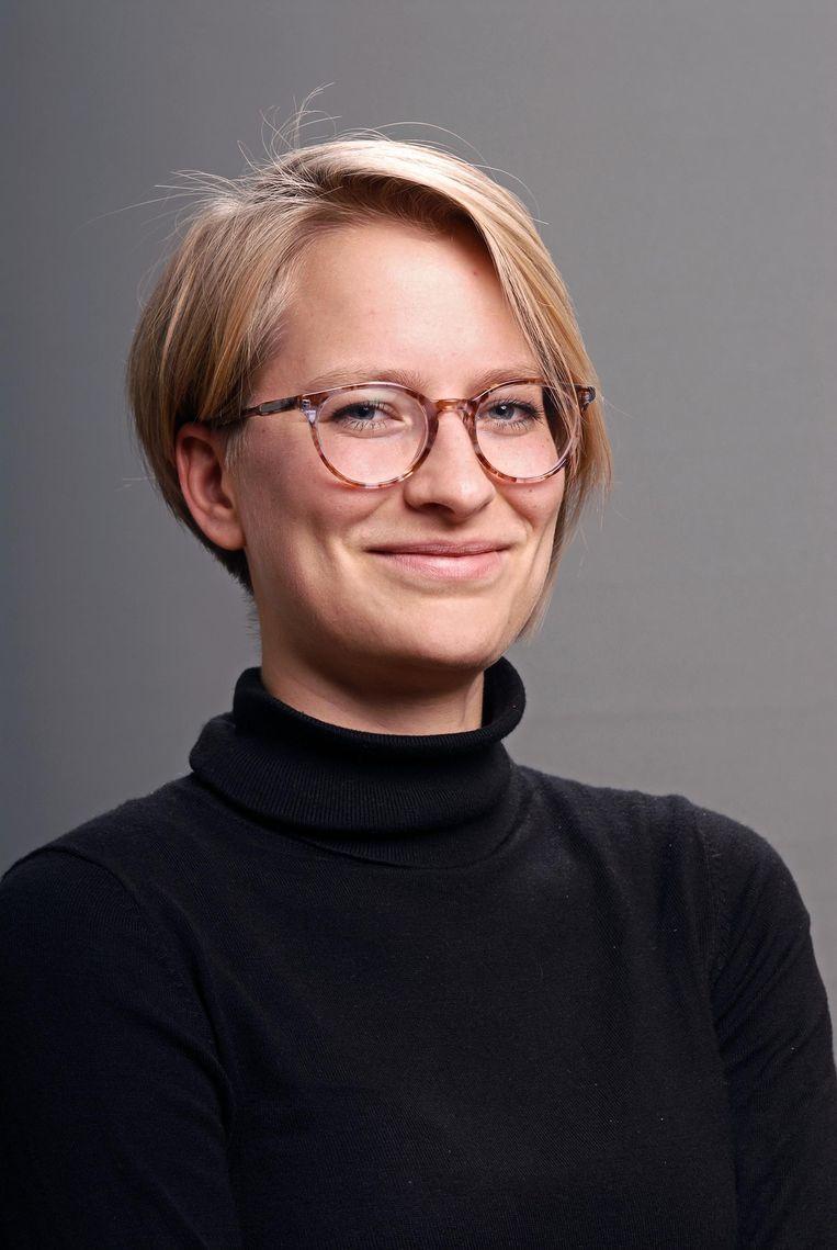 Antropoloog Willemijn Krebbekx bestudeerde hoe jongeren omgaan met seksualiteit Beeld Olaf Posselt