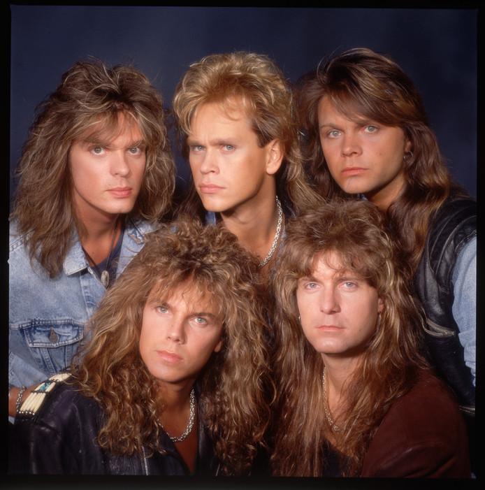 Europe in 1988 met Mic Michaeli (rechtsboven).