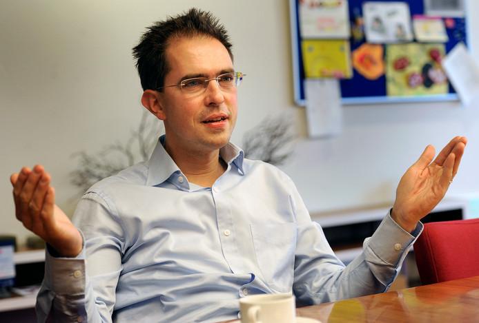 Wethouder Martijn Leisink: boos en verdrietig over 'onnodige bureaucratie'.