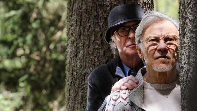Michael Caine en Harvey Keitel in Youth. Beeld