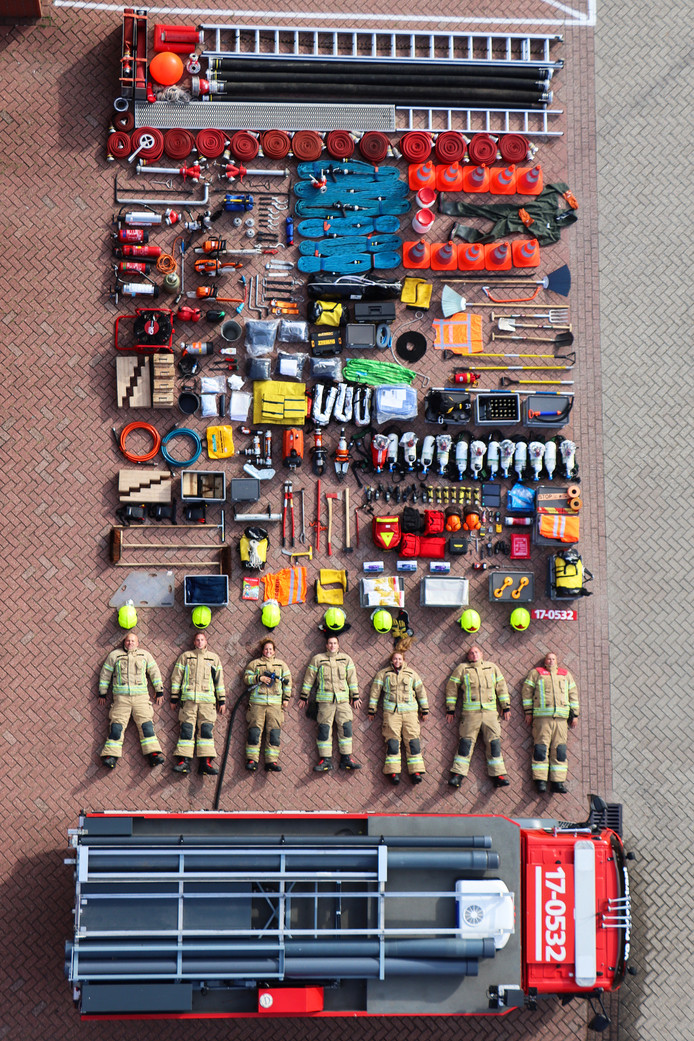 De Tetris-Challenge van de Rotterdamse brandweer