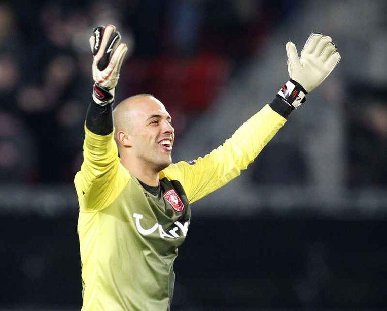 Nikolay Michailov bij FC Twente.