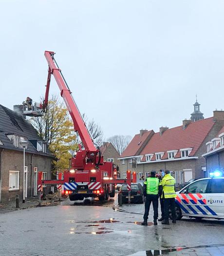 Brand in huis met hennepkwekerij in Helmond
