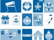 'Steun Tilburgse horeca': ieder dag een vakje openen van de Grote Horeca Adventskalender