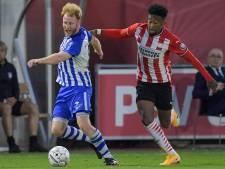Jong PSV laat de punten aan FC Eindhoven