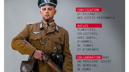Ecolo-jongeren moeten naar politie voor nazifoto Francken