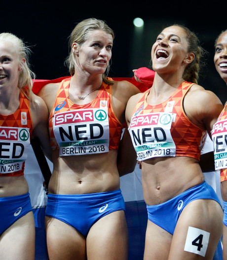 'Geweldig' EK-zilver dreunt nog wel even na in hoofd van sprintster Van Hunenstijn