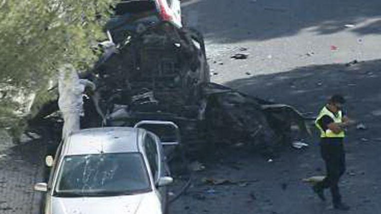 Bomaanslag bij guardia civilkazerne op Mallorca (AFP) Beeld