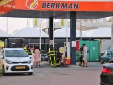 Tankstation in Halsteren gesloten om vermoedelijk brandstoflek