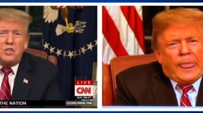 Zusterzender Fox ontslaat video-editor die Trump zijn tong laat uitsteken