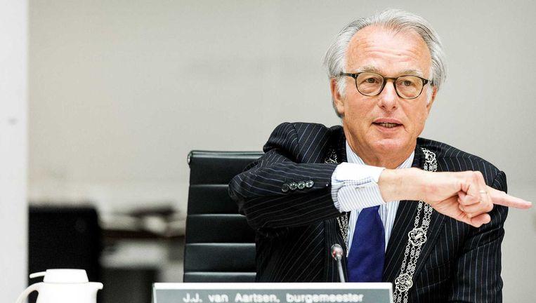 De Haagse burgermeester Jozias van Aartsen Beeld anp