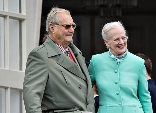 Prins Henrik en koningin Margrethe van Denemarken.