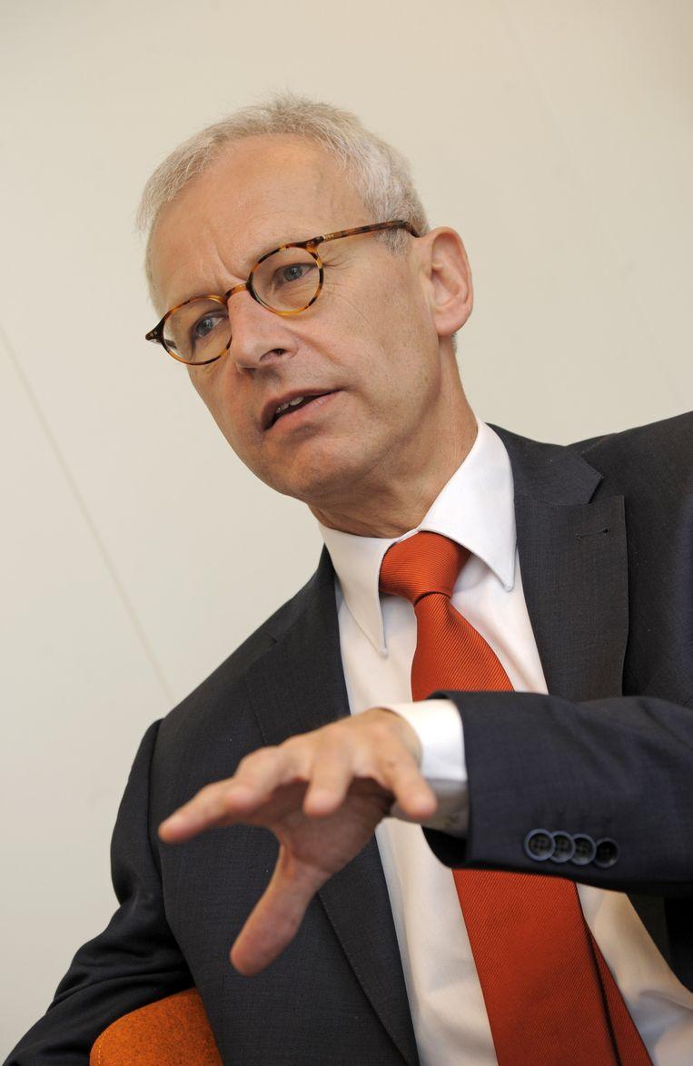 Huub Wieleman, voorzitter Nederlandse accountants Beeld