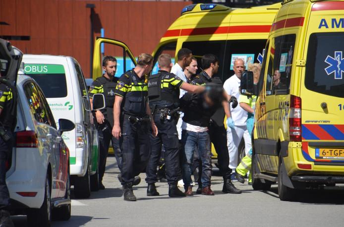 Een man is aangehouden voor een steekpartij in het Groene Hart Ziekenhuis in Gouda.