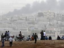 'IS valt Kobani van drie kanten aan'
