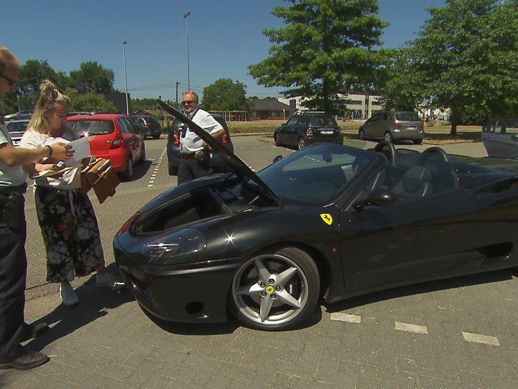 """Alloo en de wegpolitie zetten Ferrari aan de kant: """"Ik ging gewoon even tanken"""""""