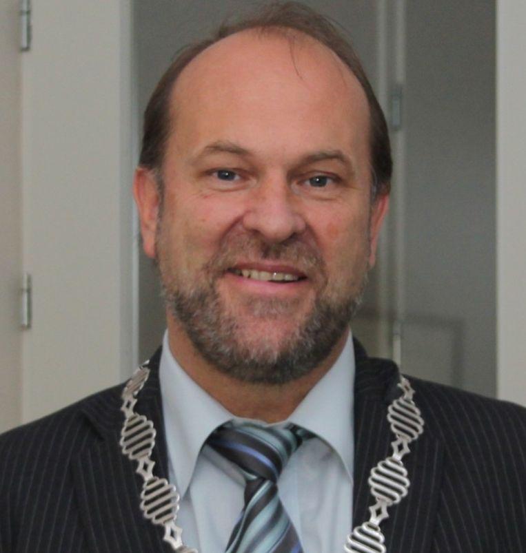 Burgemeester Bert Blase van Vlaardingen. Beeld Gemeente Alblasserdam/Hardinxveld-Giessendam