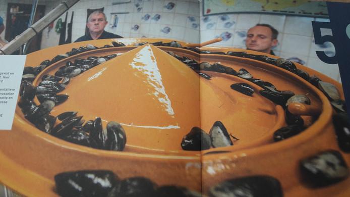 Foto van de brochure Mosselperspectief: de mosselveilng in Yerseke.