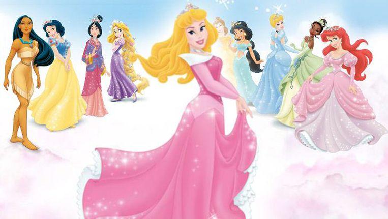 De prinsessen van Disney. Merida schittert in afwezigheid. Beeld Disney