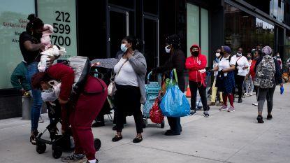 Aantal Amerikanen dat werkloos is door coronacrisis loopt op tot 38,6 miljoen