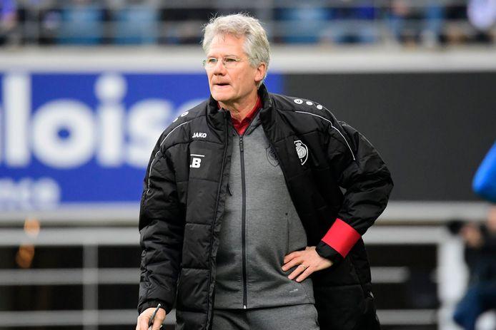 Laszlo Bölöni, coach de l'Antwerp.