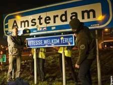 Nepfoto: Amsterdam zegt 'Vitesse, welkom terug'